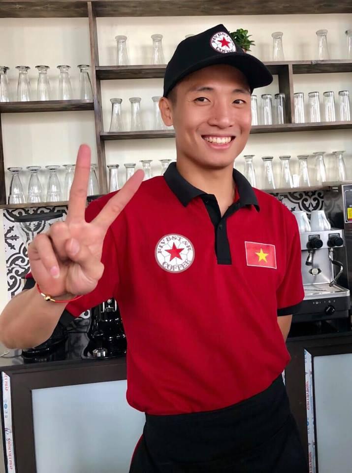 Bùi Tiến Dũng đầu tư hơn 1,5 tỷ đồng mở quán cà phê ở Hà Nội