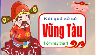 XSVT 26/3 - Kết quả xổ số Miền Nam tỉnh Vũng Tàu thứ 3 ngày 26/3/2019