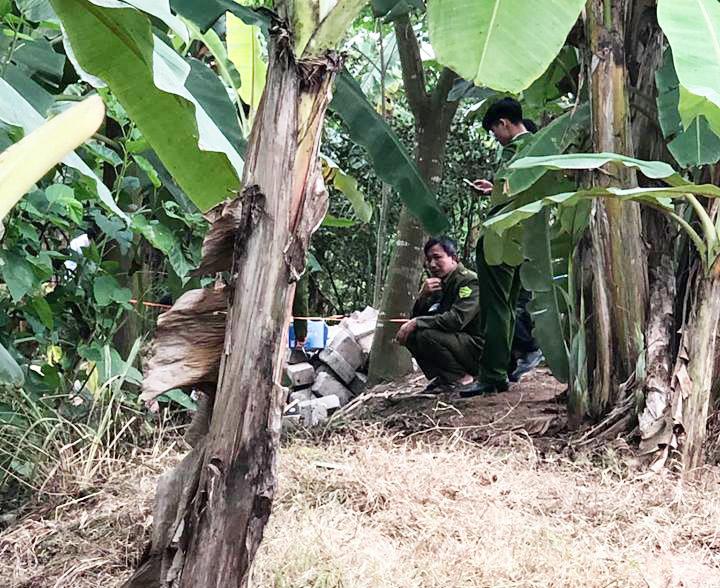 Hiện trường phát hiện thi thể 3 người chết đuối trên sông Hóa.