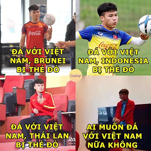 Việt Nam thắng Thái Lan 4-0, mạng xã hội 'dậy sóng' ảnh chế