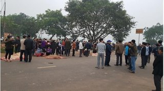 Danh tính nạn nhân tử vong trong vụ xe khách tông xe tang ở Vĩnh Phúc