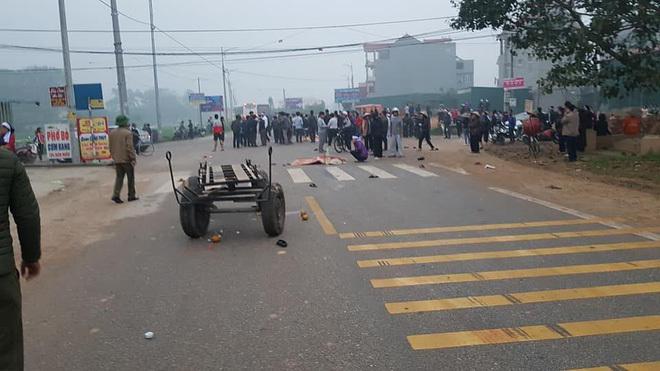 Hiện trường vụ tai nạn thảm khốc khiến 7 người tử vong ở Vĩnh Phúc