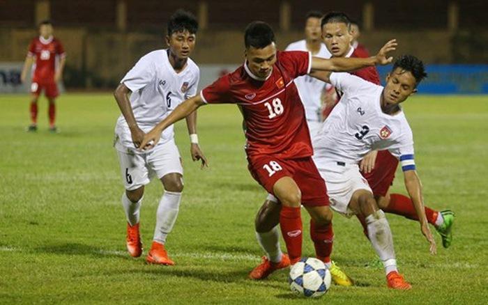 U19 Việt Nam có trận thắng sát nút trước Trung Quốc ở giải Quốc tế