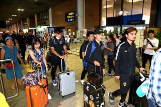 U23 Thái Lan về nước trong cô đơn và lặng lẽ sau trận thảm bại U23 Việt Nam