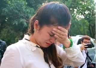 Bà Lê Hoàng Diệp Thảo bật khóc: