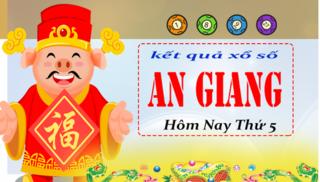 XSAG 4/4 - Kết quả xổ số Miền Nam tỉnh An Giang thứ 5 ngày 4/4/2019