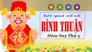 XSBTH 6/8 - Kết quả xổ số Bình Thuận hôm nay thứ 5 ngày 6/8/2020