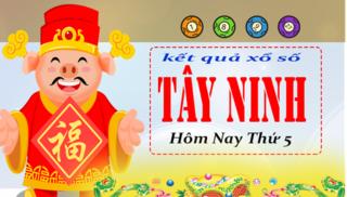 XSTN 28/3 - Kết quả xổ số  Miền Nam tỉnh Tây Ninh thứ 5 ngày 28/3/2019