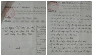 Vì sao giấy thỉnh oan gia trái chủ chùa Ba Vàng đóng dấu treo BTS Phật giáo Quảng Ninh?