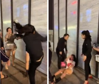 Bồ nhí bị đánh ghen dã man giữa phố vì thách thức vợ 'không biết giữ chồng'
