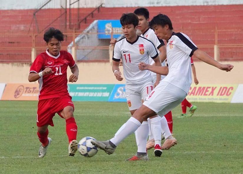 Tuyển U19 Việt Nam được HLV U19 Trung Quốc hết lời ngợi khen