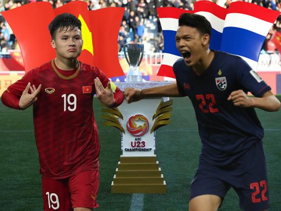 U23 Việt Nam nằm khác bảng với U23 Thái Lan tại VCK U23 châu Á 2020