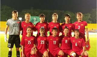 Đội tuyển bóng đá nữ Việt Nam 'chốt' danh sách dự vòng loại Olympic Tokyo