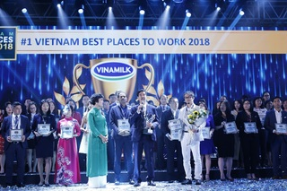 Vinamilk là nơi làm việc tốt nhất Việt Nam 2 năm liền