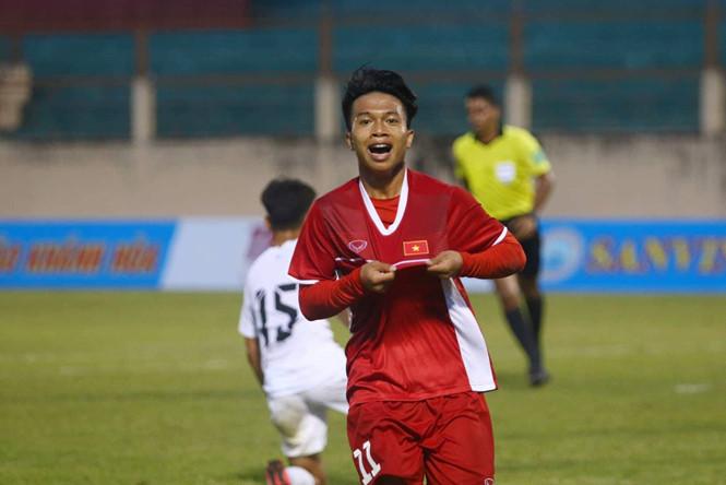 Tiền đạo Xuân Tạo được HLV Hoàng Anh Tuấn triệu tập lên U18 Việt Nam