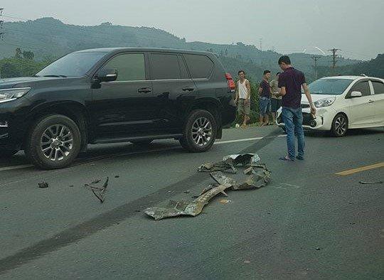 Xe ô tô va chạm trực diện xe ben ở Hoà Bình: Xác định danh tính các nạn nhân7