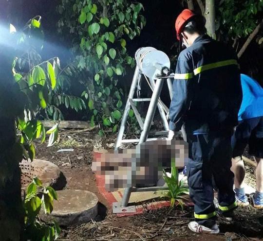 Sau 2 ngày mất tích, người đàn ông bất ngờ được phát hiện tử vong dưới giếng