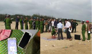 Vụ 2 thi thể nữ trôi dạt trên biển Hà Tĩnh: Một chiếc điện thoại vẫn hoạt động