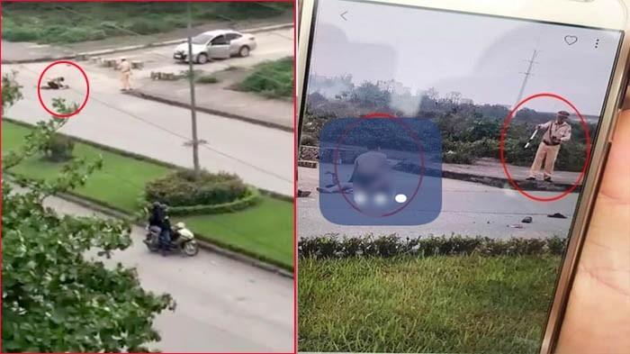 CSGT 'bất lực' nhìn cô gái bị đâm chết ở Ninh Bình tạm thời không được ra chốt