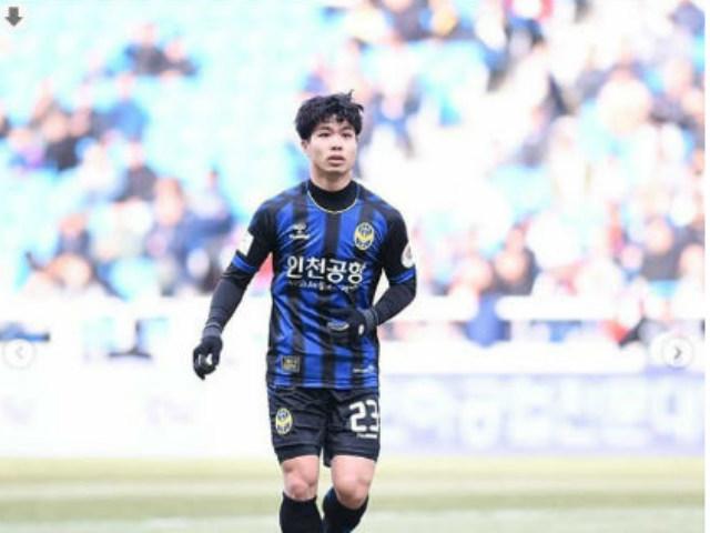 Tiền đạo Công Phượng có trận đá chính đầu tiên tại K.League