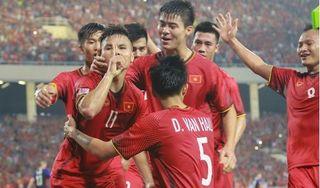 Đội tuyển Việt Nam tiếp tục thăng hạng trên BXH FIFA