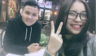 Fan trầm trồ vì 'soái ca' Quang Hải cực ngọt ngào quan tâm bạn gái Nhật Lê