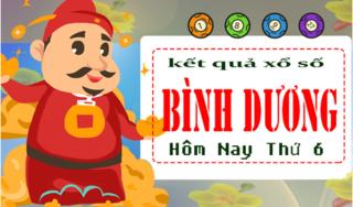 XSBD 5/4 - Kết quả xổ số Miền Nam tỉnh Bình Dương thứ 6 ngày 5/4/2019