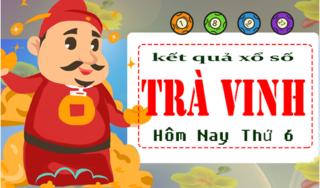 XSTV 5/4 - Kết quả xổ số Miền Nam tỉnh Trà Vinh thứ 6 ngày 5/4/2019