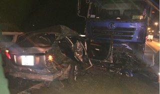 Tin tức TNGT ngày 6/4/2019: Ô tô con tông xe tải khiến 2 người tử vong