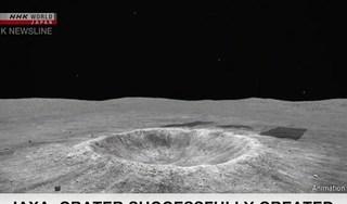 Nhật Bản tạo thành công miệng núi lửa trên bề mặt tiểu hành tinh