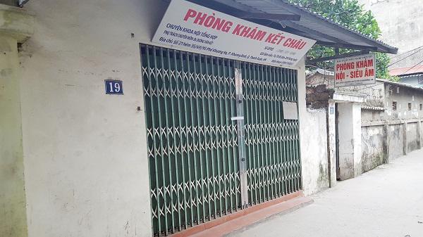 Nữ công nhân tử vong sau khi truyền đạm tại phòng khám tư nhân ở Hà Nội