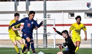 U15 Thái Lan gây sốc khi đánh bại đội trẻ của Tây Ban Nha