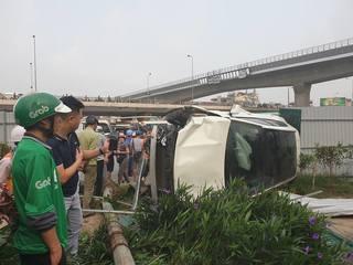 Nữ tài xế lái Mercedes gây tai nạn kinh hoàng trên đường phố Hà Nội