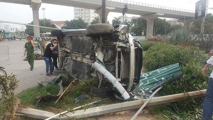 Tình hình sức khỏe nạn nhân vụ nữ tài xế Mercedes tông liên hoàn nhiều