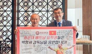 HLV Park Hang Seo bất ngờ được phong danh hiệu giáo sư