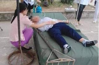 Nam sinh lớp 6 gặp chấn thương nghiêm trọng phần đầu trong giờ thể dục