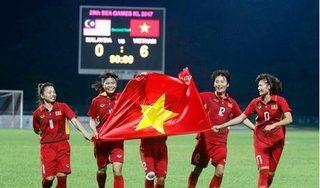 Đội tuyển nữ Việt Nam mang tin vui tới người hâm mộ