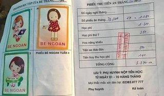 Vụ trường mầm non không dạy trẻ vì nợ tiền học phí: Lỗi do kế toán