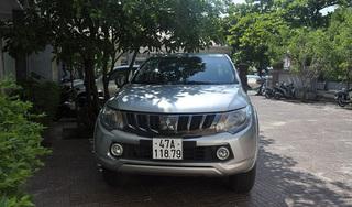 Trộm ô tô bán tải từ Quảng Trị chạy vào đến Kon Tum thì bị bắt giữ