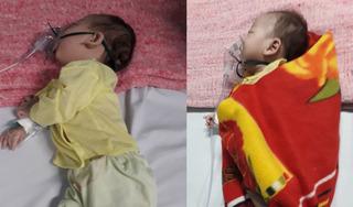Tiếng khóc xé lòng của 2 bé người Mông không có tiền chữa bệnh