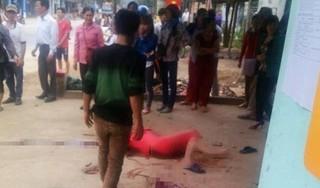 Bắc Giang: Xảy ra cãi vã, chồng chém vợ dã man