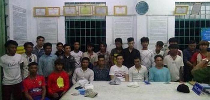Lời khai 29 thanh niên chạy xe biển 80 chở đầy vũ khí, chuẩn bị hỗn chiến