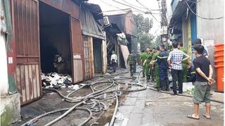 Danh tính 8 nạn nhân tử vong trong vụ cháy nhà xưởng ở Hà Nội