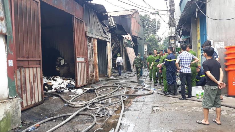 Vụ 8 người chết cháy ở Hà Nội: 4 người trong một gia đình