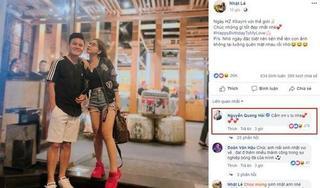 Quang Hải gọi Nhật Lê là 'vợ yêu' trong ngày sinh nhật