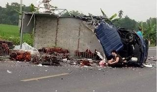 Hà Nam: Xe tải chở gà đấu đầu với xe ben, tài xế tử vong thương tâm