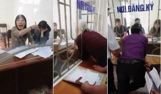 """Nam Định: Sẽ xử lý người quay clip """"dân chui qua lỗ làm việc với cán bộ"""""""