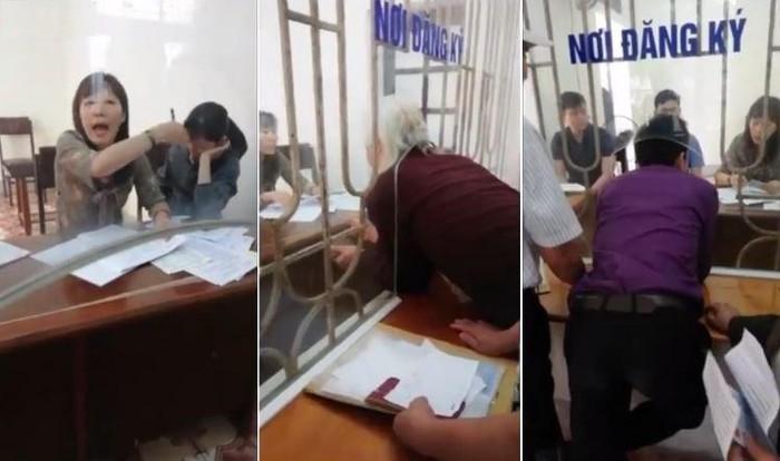 Nam Định: Sẽ xử lý người quay clip dân chui qua lỗ làm việc