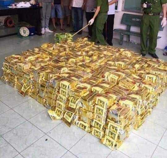 Bắt giữ nhóm đối tượng vận chuyển 600kg ma túy đá