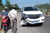 Xe biển xanh của CSGT tông xe máy khiến ông lão 63 tuổi tử vong